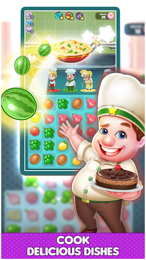 Fantastic Chefs: Match 'n Cook  {cheat|hack|gameplay|apk mod|resources generator} 2