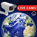 Live Earth Cam HD - Webcam, Satellite View, 3D Map icon