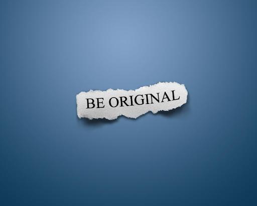 """""""Be Original"""" HQ Wallpapers"""