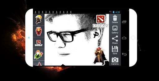 Dota Photo Sticker