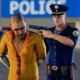 LA Police Run Away Prisoners Chase Simulator 2018