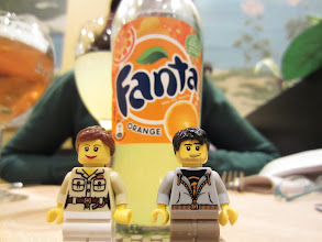 Photo: An orange Fanta in Belgium