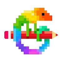 Pixel Art: 数字で塗り絵スケッチブック