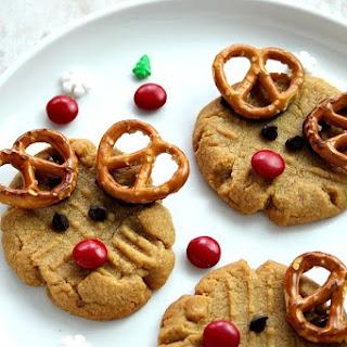 Easy Rudolph the Reindeer Cookies Recipe