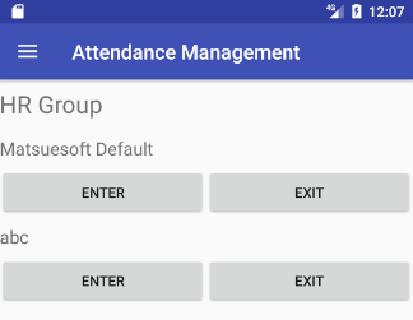 Attendance Record by User 1.0 Windows u7528 2