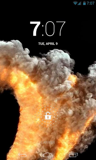 Fiery Serpent Live Wallpaper
