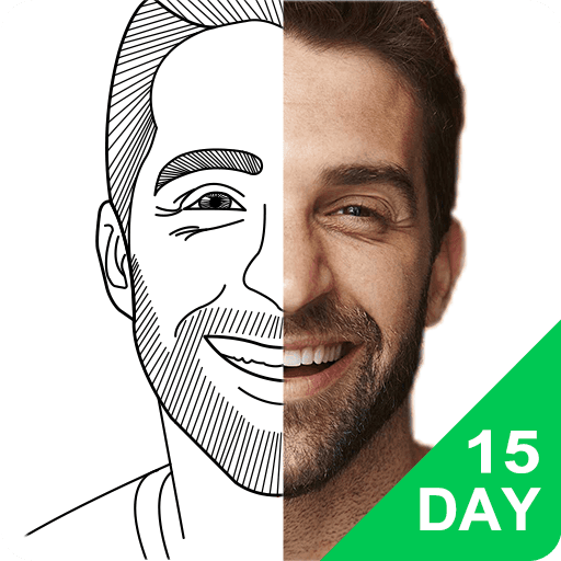 15 Day Learn To Draw Portrait