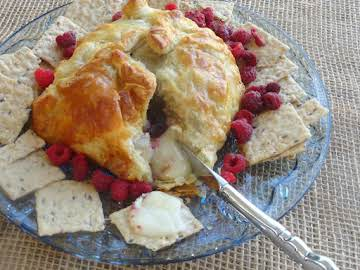 Christmas Breakfast Brie Pastry