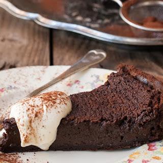 Wicked Double Chocolate Custard Tart