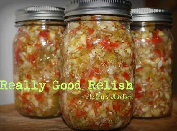 Really Good Relish Recipe