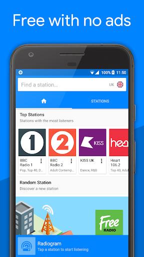 Radiogram: Music, Sports and Talk Radio 1.3.6 screenshots 1