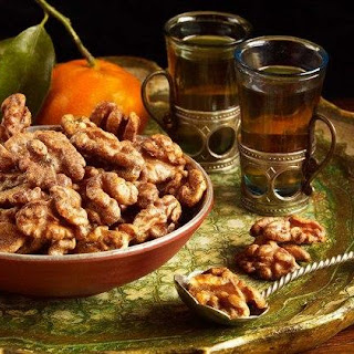 Indian Spiced Walnuts
