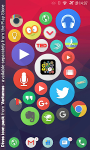 Bubble Widgets + Wear Launcher screenshot 16