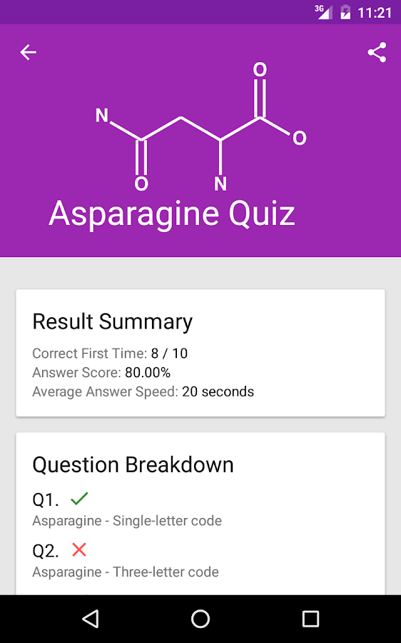 Amino Acid Test Android Apps on Google Play