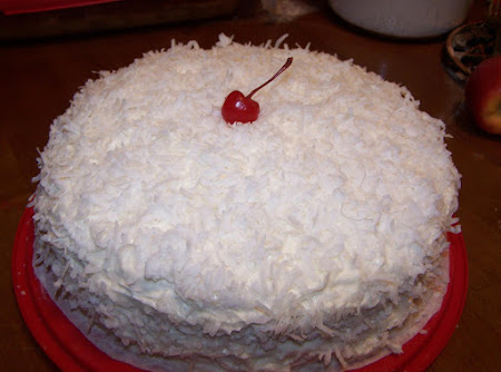 Old Fashion Buttermilk Coconut Cake w/Buttercream Recipe