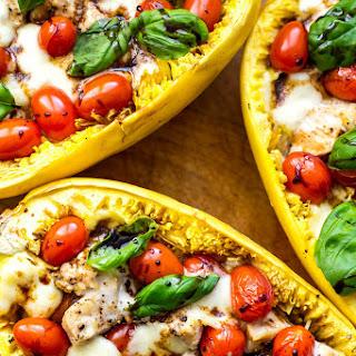 Chicken Caprese Spaghetti Squash Recipe