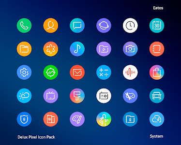 Delux - Round Icon pack 1.3.5 (Patched)
