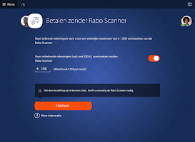 Screenshot of Rabo Bankieren