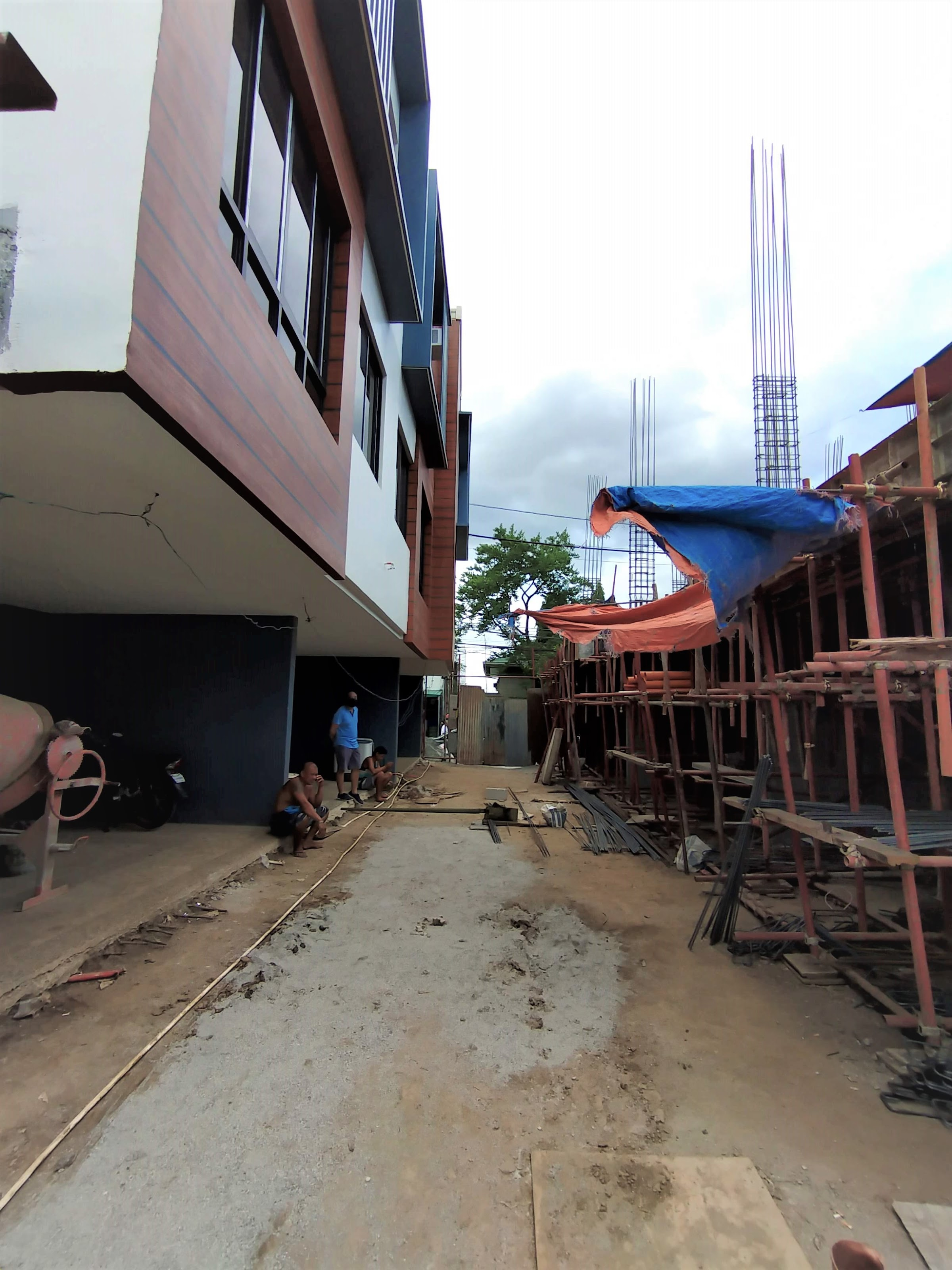 Ginza 2 Don Antonio Heights, Quezon City May 2021 construction update