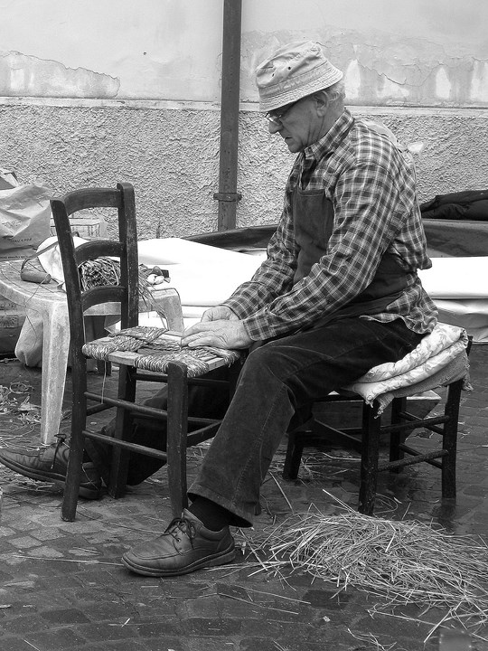 La sedia...protagonista! di Wilmanna