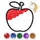 Fruits Coloring Game & Drawing Book - Kids Game APK