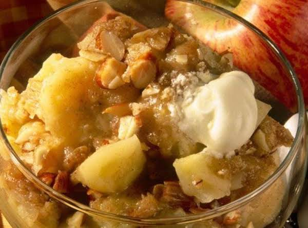 Banana Apple Crisp Recipe