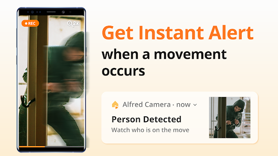 App Alfred Home Security Camera, Baby&Pet Monitor CCTV APK for Windows Phone