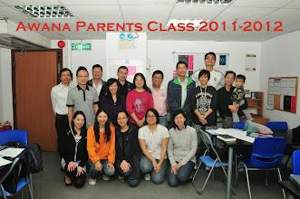 Photo: Awana Parent Class 2011-2012