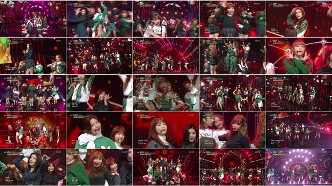 181109 IZONE Part - Music Bank