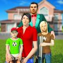 Virtual Family simulator – Real life games icon