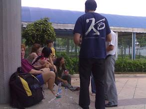 Photo: unos de sestao pillados infraganti rajando sobre madrid! si rosa, tuuuuuuu :P