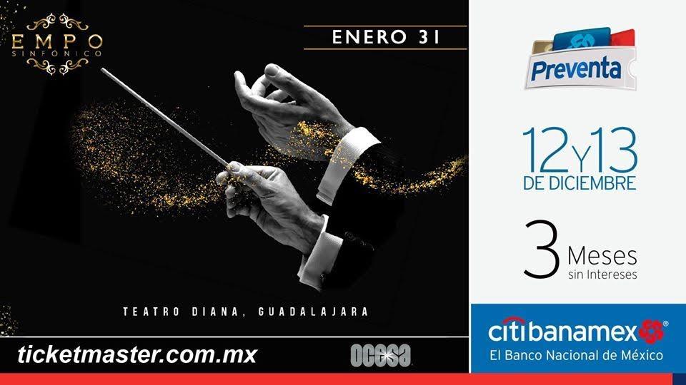 ¡EMPO Sinfónico anuncia nuevas fechas!