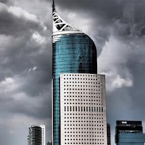 BNI Building, Jakarta, Indonesia by Lisawati Gunawan - Buildings & Architecture Office Buildings & Hotels ( building, jakarta indonesia,  )