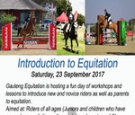 Introduction to Equitation Seminar - all welcome : Fourways Riding Centre