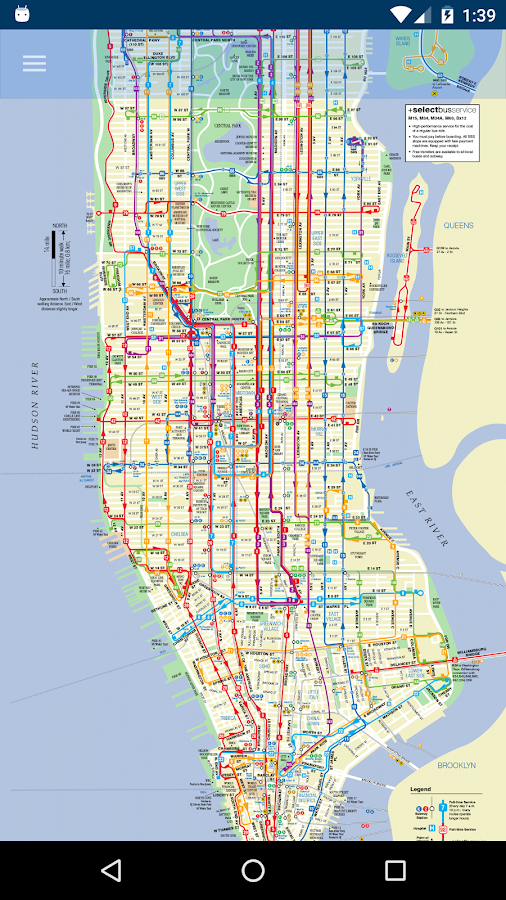 New York Subway Bus Maps Offline Nyc Mta Android Apps On