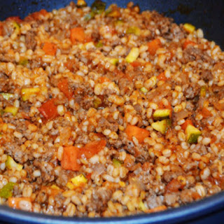 Beef and Barley Skillet Recipe