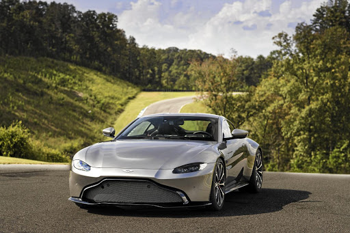 The new Vantage is a much sharper looking model than its predecessor