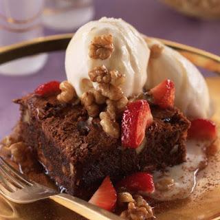 Walnut Brownies.