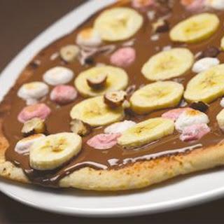 Bad Boy Chocolate Pizza.