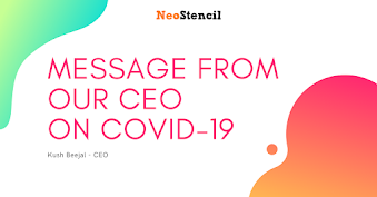 Message from our CEO on COVID-19