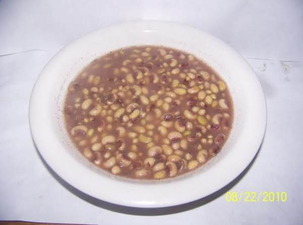 Purple Hull Peas Recipe