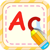 ABC alphabet English writing