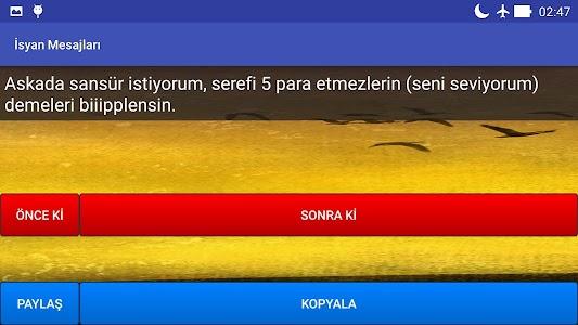 İsyan Mesajları screenshot 5