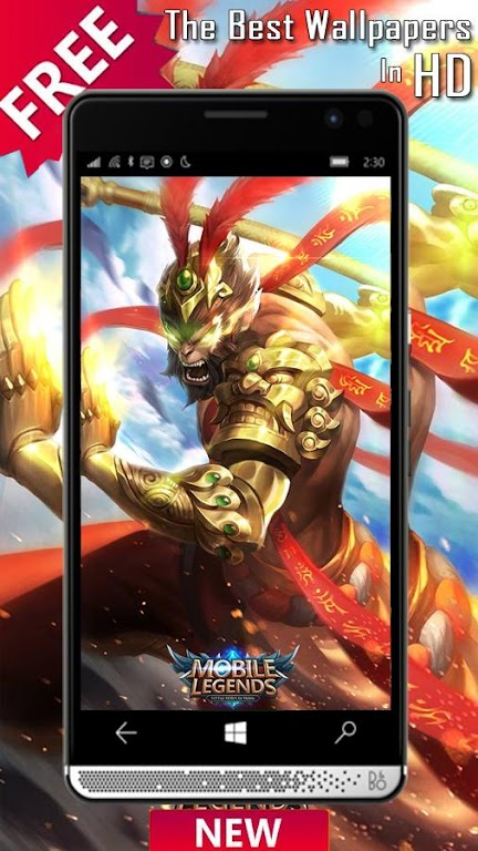 تحميل Free Hero Mobile Legends Wallpaper Hd Apk أحدث إصدار