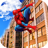 Super Spider City Crime Battle: Hero Crime Fighter