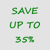 Save on everything you buy. Save up to 35 percent