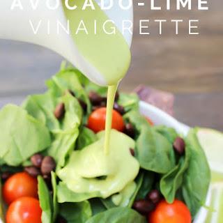 Avocado-Lime Vinaigrette & Blendtec Giveaway