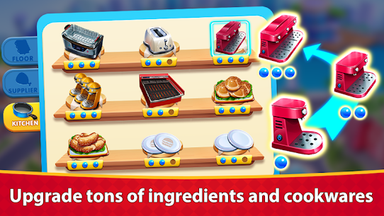 Cooking Sizzle: Master Chef MOD APK (Unlimited Money) 5