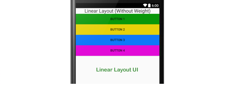 Hướng dẫn về Linear Layout