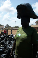 Photo: October - 16th - Community Trash Removal and Tree Planting. Another Mama.